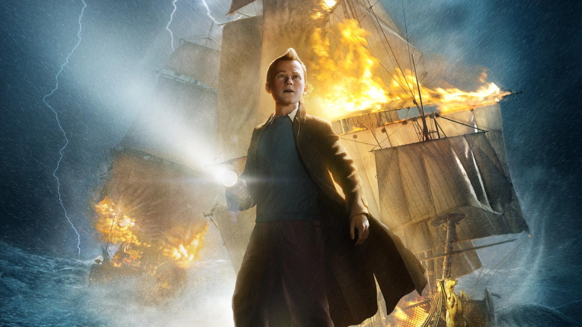 peter jackson directing 'tintin' sequel after 'secret' amblin