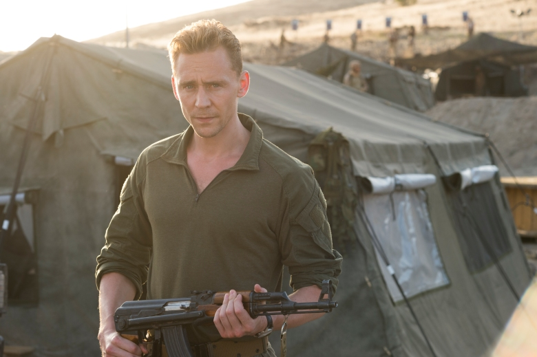 "Tom Hiddleston as ""The Night Manager"""