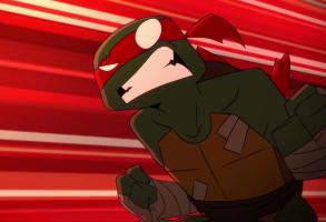 "Jhonen Vasquez's animated short ""Don vs. Raph"""