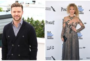 Justin Timberlake and Juno Temple