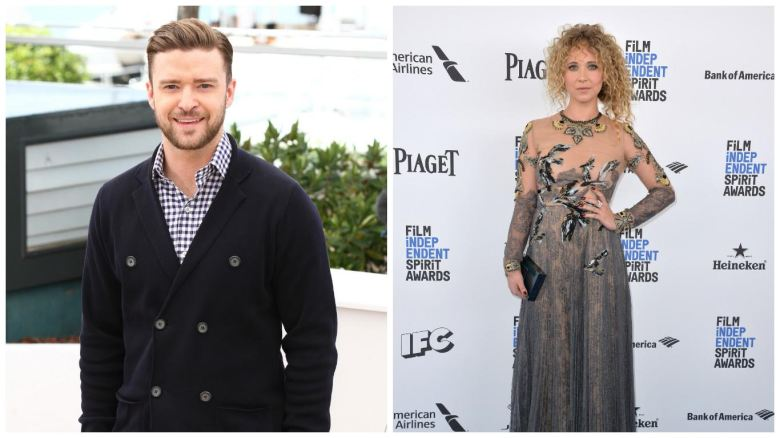 Justin Timberlake and Juno Temple