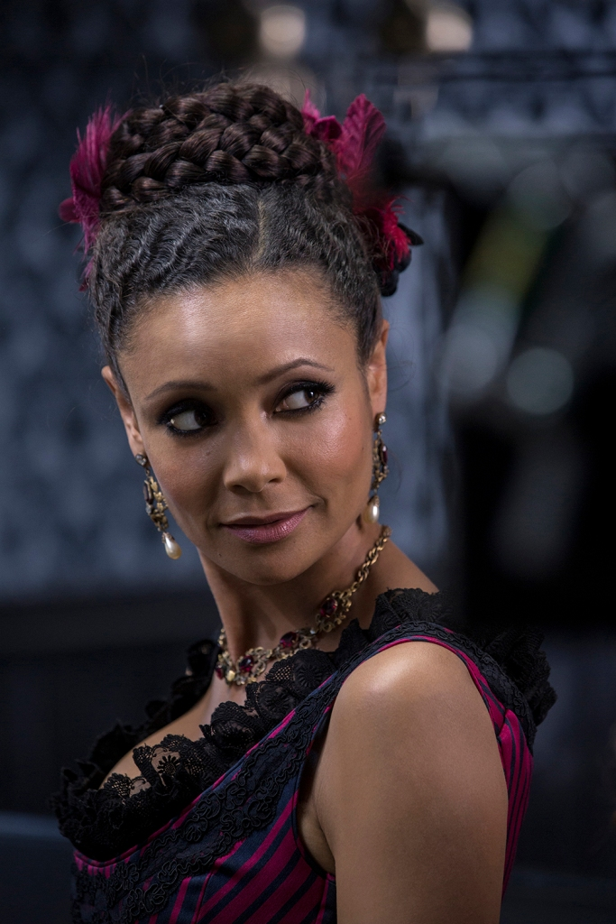 "Thandie Newton in ""Westworld."""