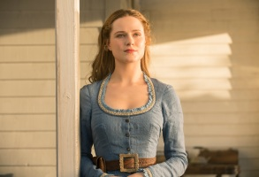 "Evan Rachel Wood in ""Westworld."""