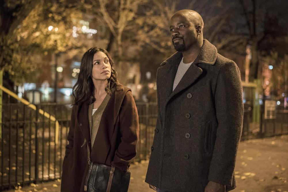 Marvel's Luke Cage Rosario Dawson, Mike Colter