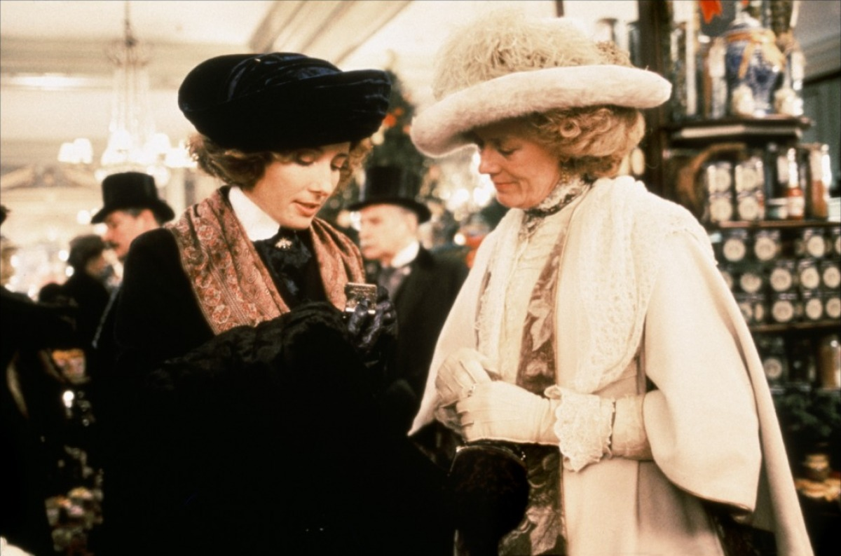 "Emma Thompson and Vanessa Redgrave in ""Howards End."""