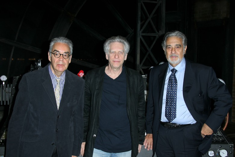 Howard Shore, David Cronenberg and Placido Domingo