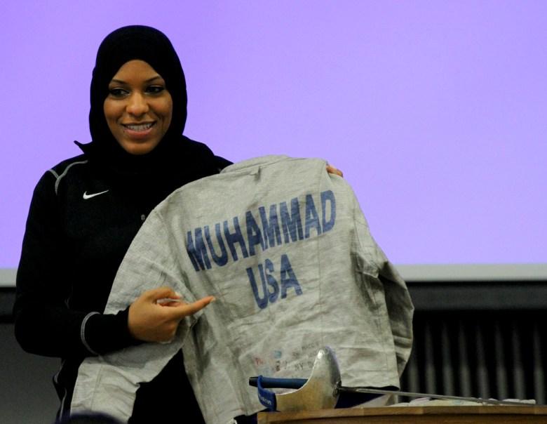 U.S. Fencing's Ibtihaj Muhammad.