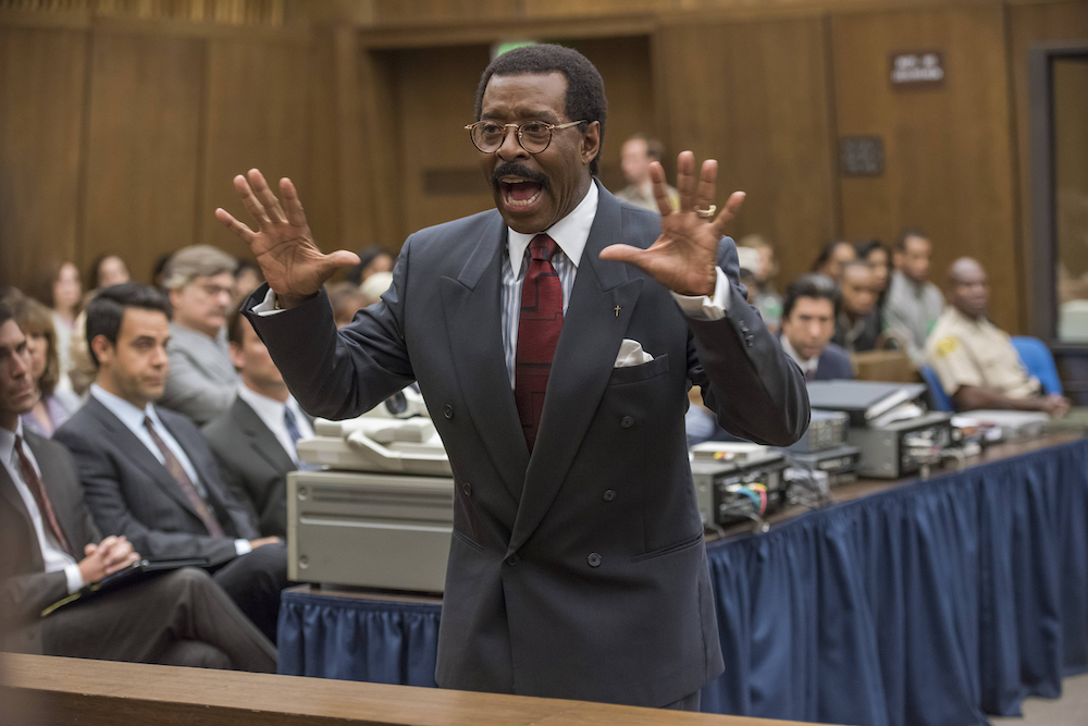 "THE PEOPLE v. O.J. SIMPSON: AMERICAN CRIME STORY ""The ""Verdict"" Episode 110 (Airs Tuesday, April 5, 10:00 pm/ep) -- Pictured: Courtney B. Vance as Johnnie Cochran. CR: Prashant Gupta/FX"