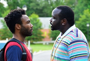 "ATLANTA ""The Big Bang"" Episode 101 (Airs Tuesday, September 6, 10:00 pm e/p) Pictured: (l-r) Donald Glover as Earnest Marks, Brian Tyree Henry as Alfred Miles"