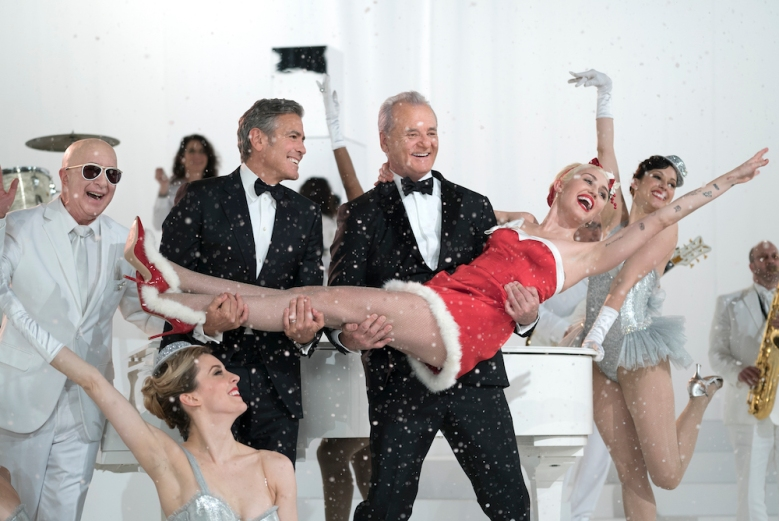 A Very Murray Christmas George Clooney Miley Cyrus