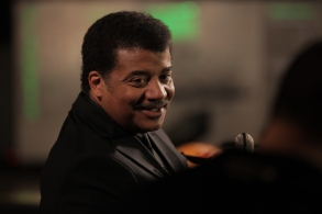 NEW YORK, N.Y. - Host Neil deGrasse Tyson in the Hall of the Universe at the American Museum of Natural History.(photo credit: NG Studios/Katy Andres)