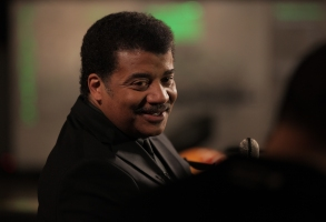 NEW YORK, N.Y. - Host Neil deGrasse Tyson in the Hall of the Universe at the American Museum of Natural History.