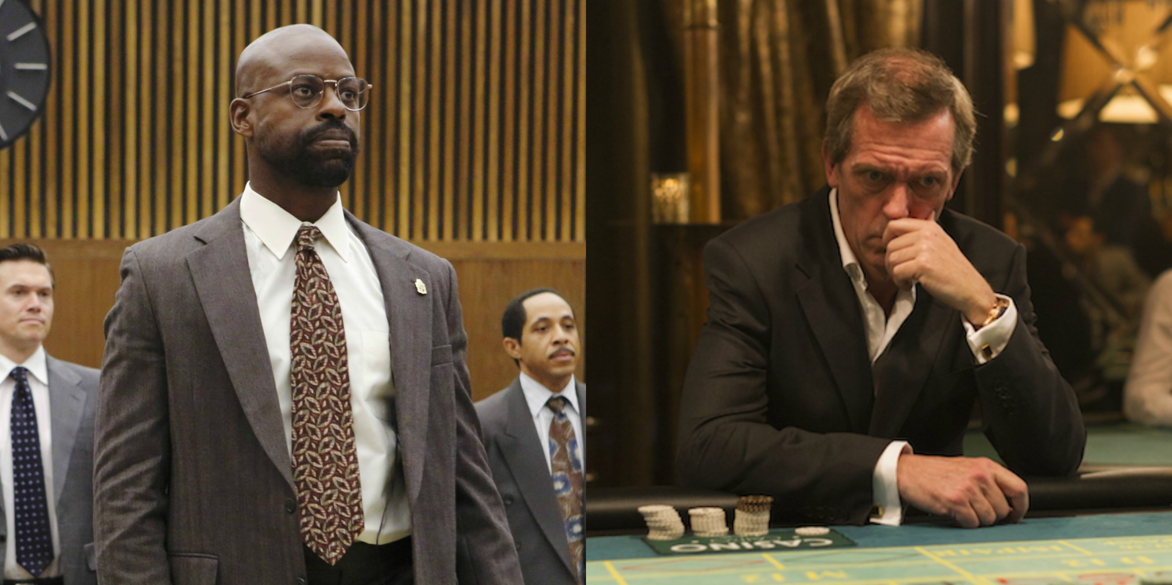 Sterling K. Brown v. Hugh Laurie - supporting actor