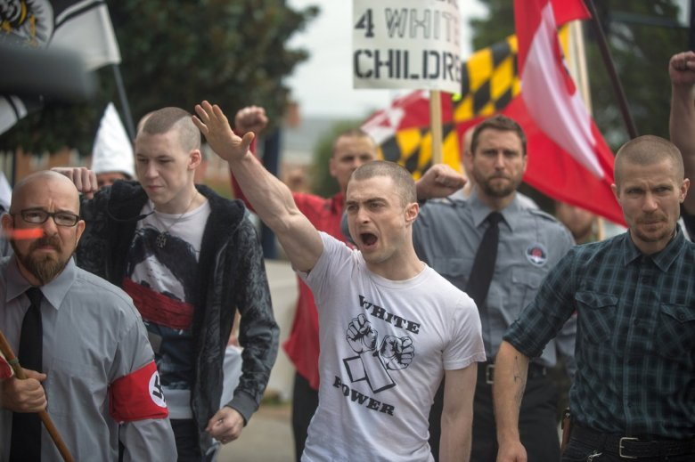 Daniel Radcliffe goes undercover as a neo-Nazi in Imperium
