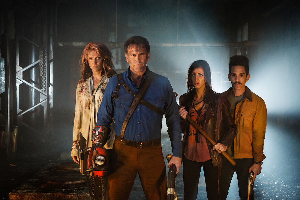 Ash Vs Evil Dead Season 2 Bruce Campbell Teases Fat Ass Easter Eggs Indiewire
