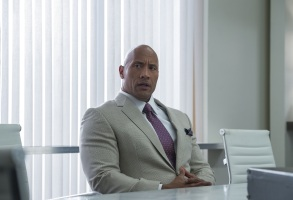 "Dwayne Johnson in ""Ballers."""