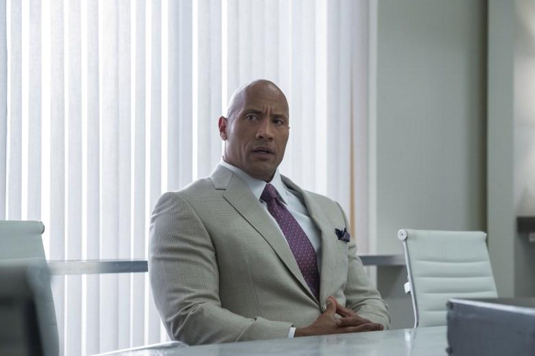 "Dwayne Johnson in ""Ballers."""