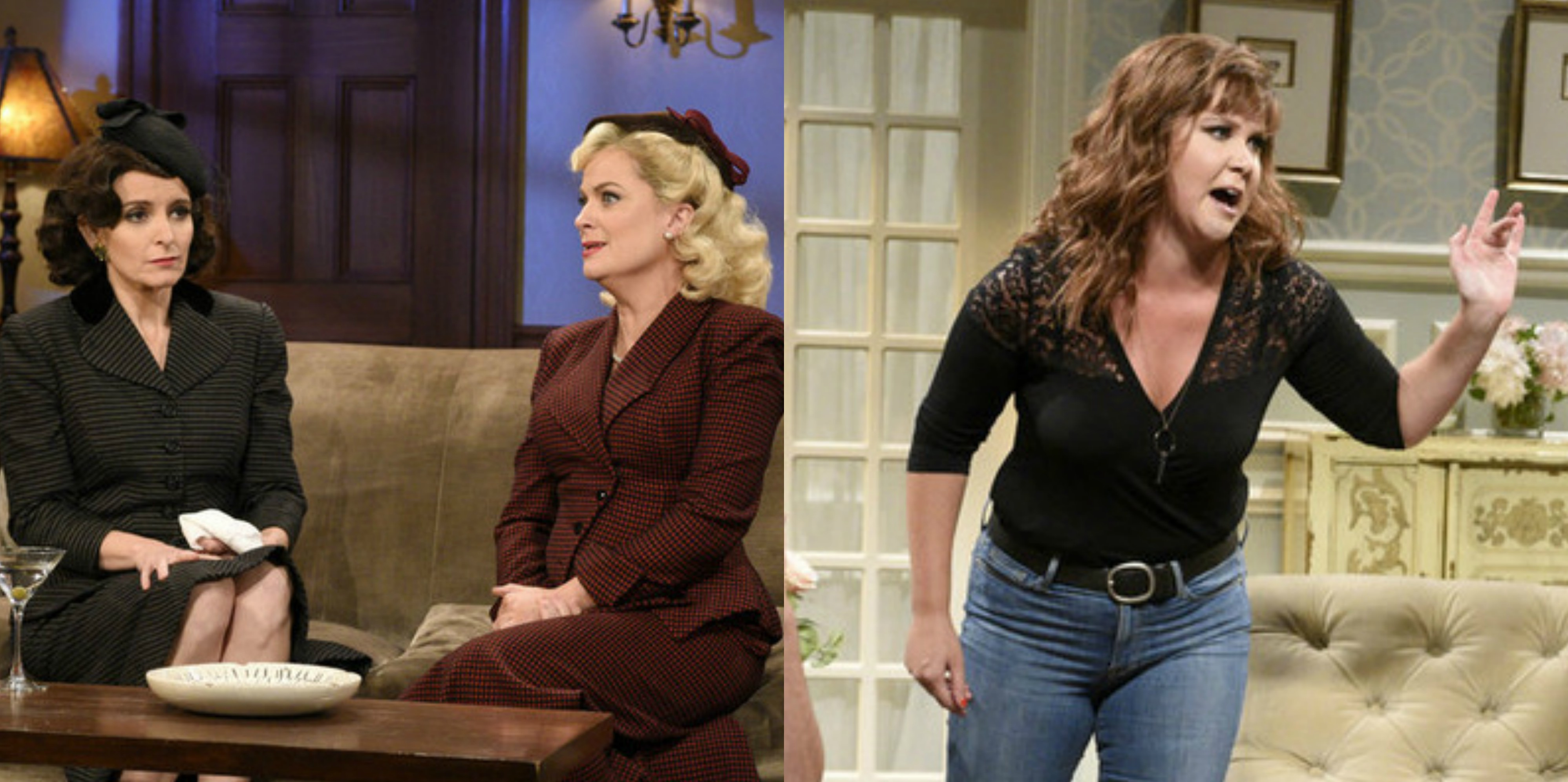 Tina Fey Amy Poehler v Amy Schumer - guest actress