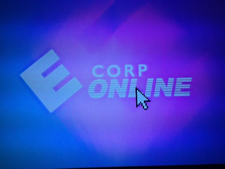 Faux 1990s E-Corp Online commercial