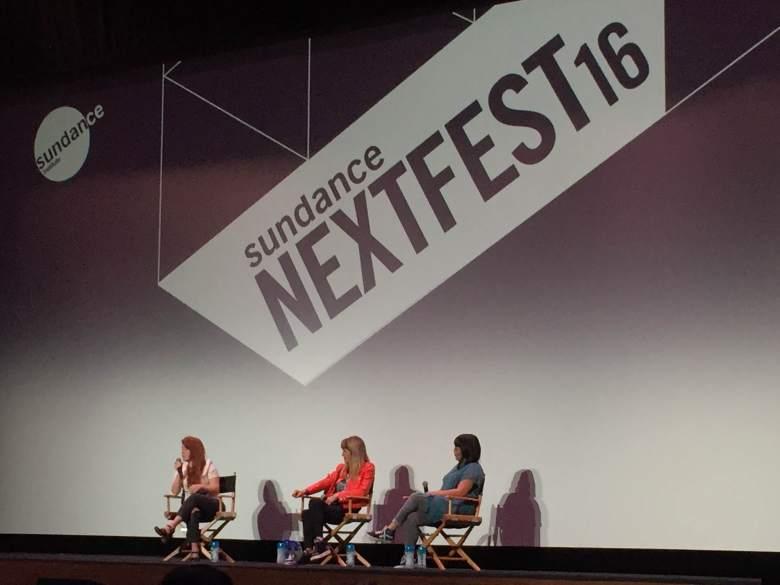 Elizabeth Wood, Catherine Hardwicke and Jen Yamato