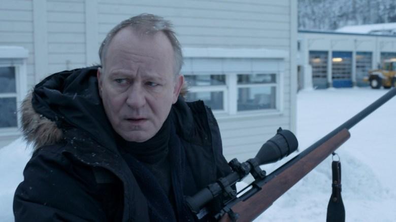 Stellan Skarsgard playing the same role as Neeson.