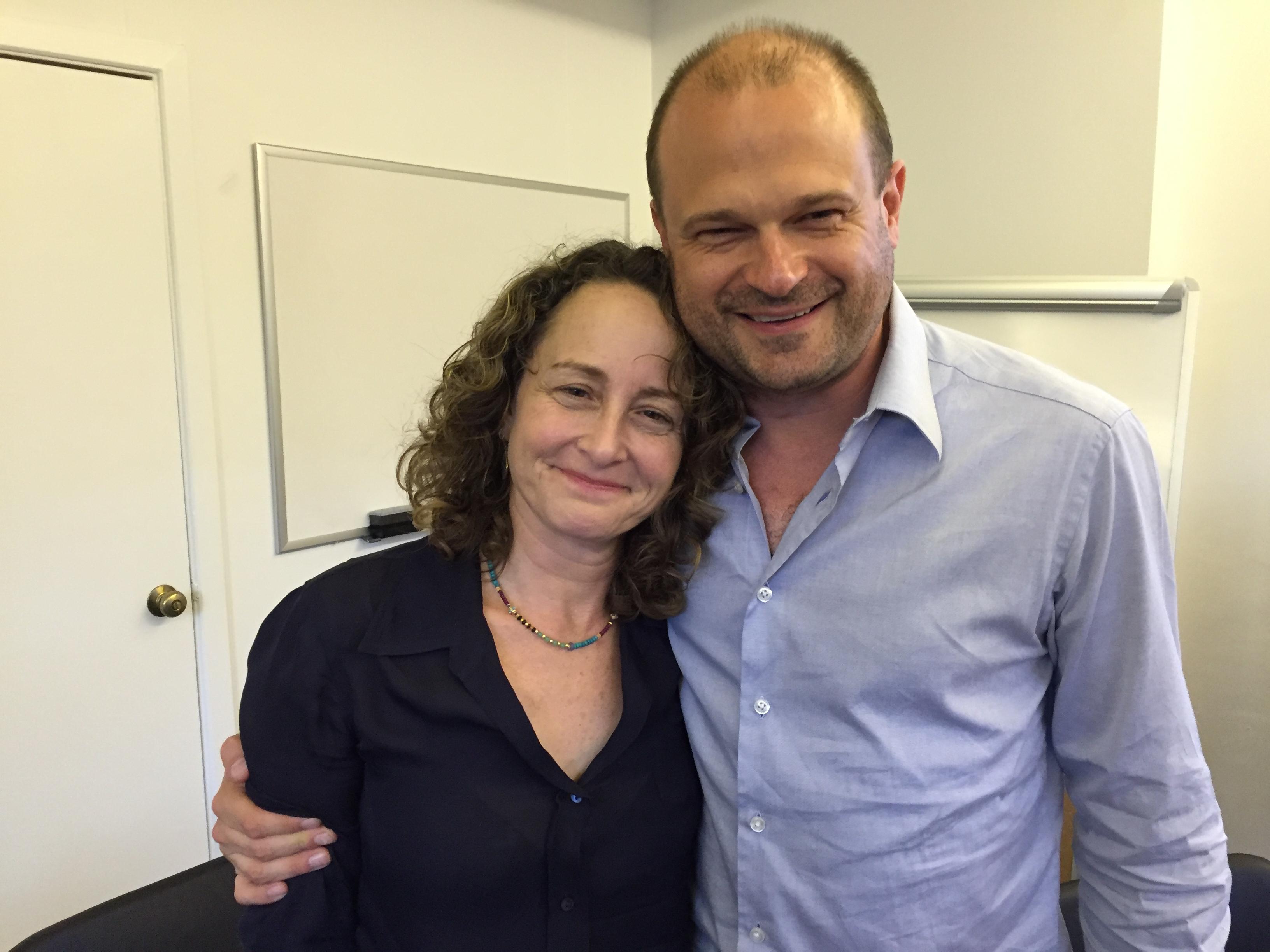 Nina Jacobson and Brad Simpson