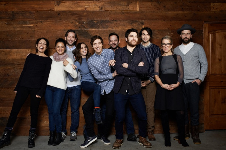 "The ""Joshy"" cast and crew at Sundance 2016"