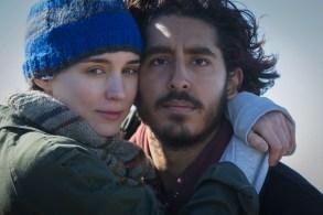 Rooney Mara and Dev Patel in Lion