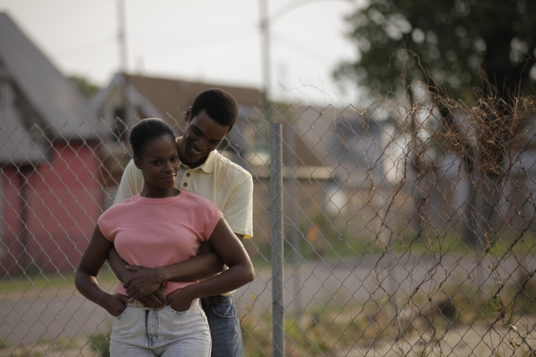 "Tika Sumpter and Parker Sawyers in ""Southside With You"""