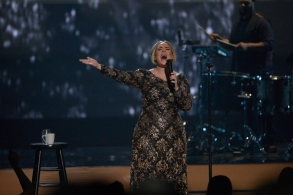 ADELE LIVE IN NEW YORK CITY -- Concert -- Pictured: Adele -- (Photo by: Virginia Sherwood/NBC)