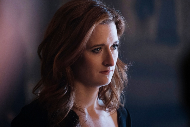 "Grace Gummer in ""Mr. Robot."""