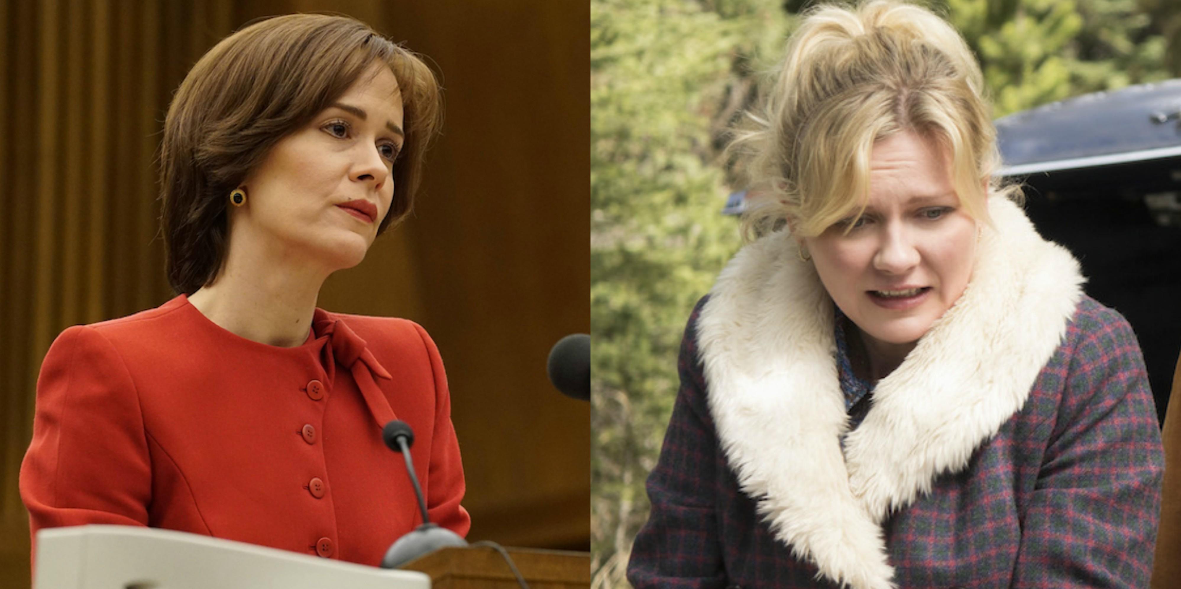 Sarah Paulson v. Kirsten Dunst - actress