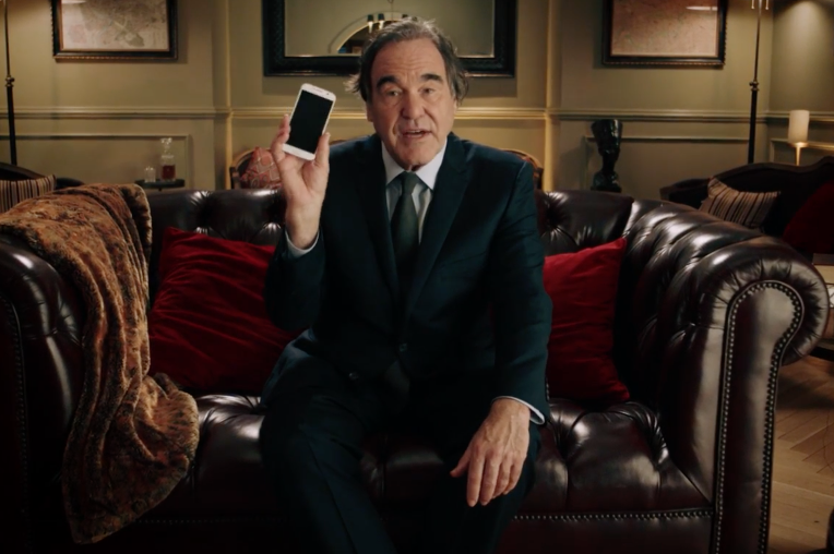 Oliver Stone's Amazing 'Turn Off Your Phone' PSA: Watch The 'Snowden' Director Rant Against Technology