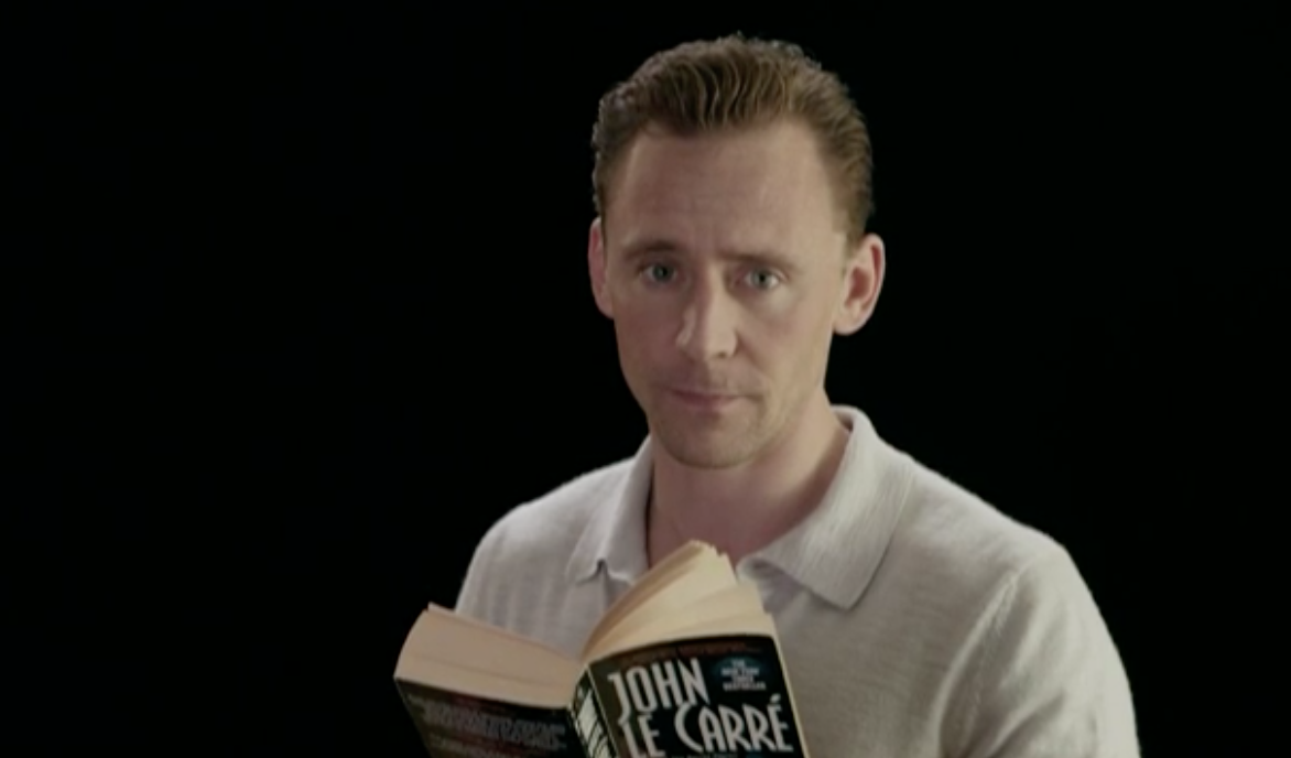 Tom Hiddleston Reads John LeCarre's 'The Night Manager' For Our Sincere Enjoyment