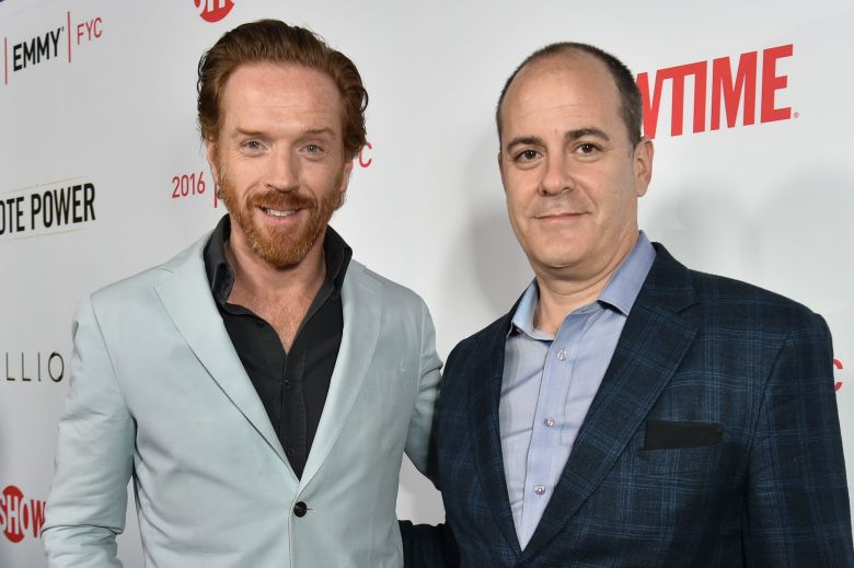 Damian Lewis and David Nevins