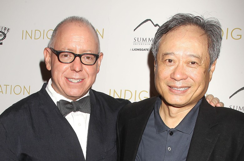 James Schamus and Ang Lee