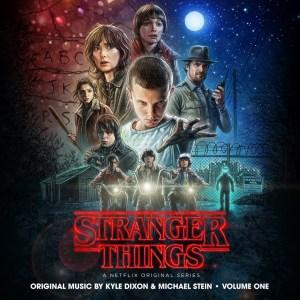 """""""Stranger Things"""" soundtrack cover art"""