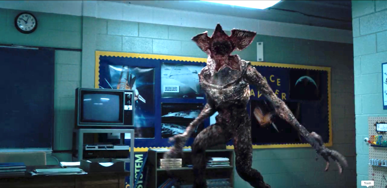 """Stranger Things"" Demogorgon"
