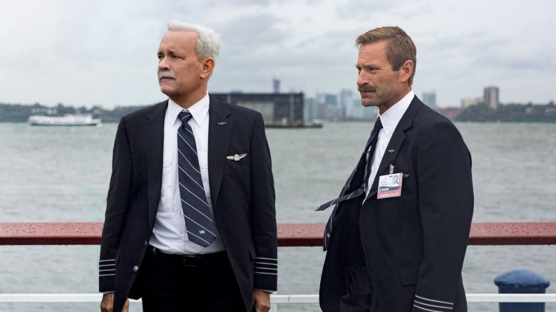 Tom Hanks Aaron Eckhart Sully