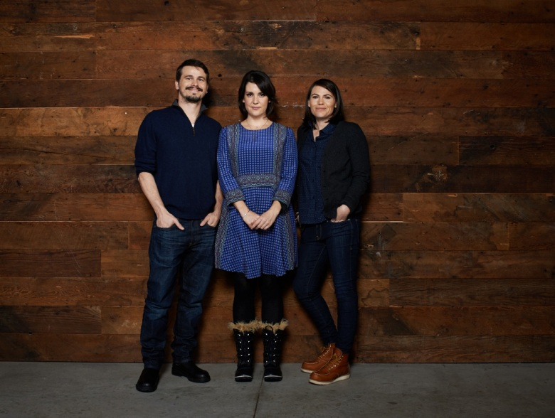 Jason Ritter, Melanie Lynskey and Clea Duvall at Sundance 2016