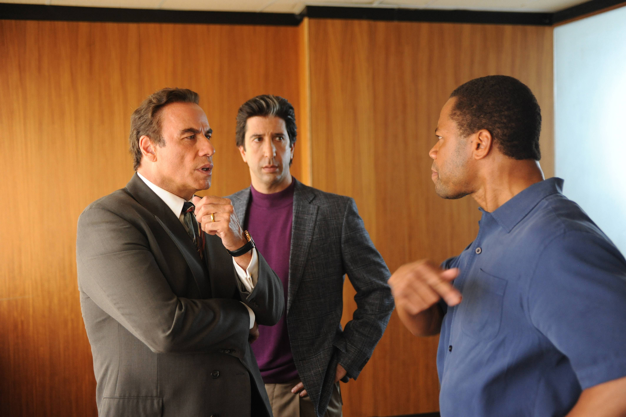 The People v. O.J. Simpson John Travolta David Schwimmer