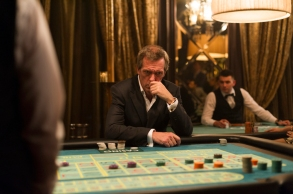 Hugh Laurie as Richard Roper; group - The Night Manager _ Season 1, Episode 6