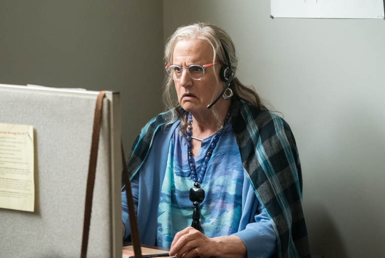 "Jeffrey Tambor as Maura in ""Transparent"""
