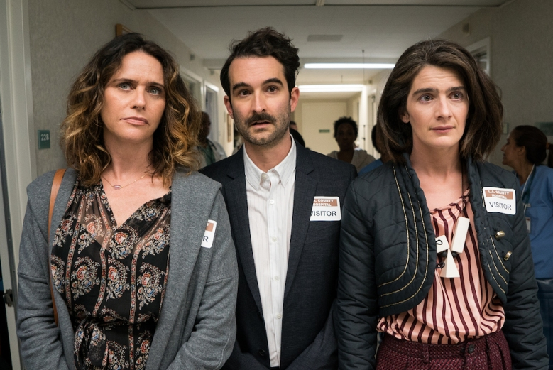 Amy Landecker, Jay Duplass, and Gaby Hoffman