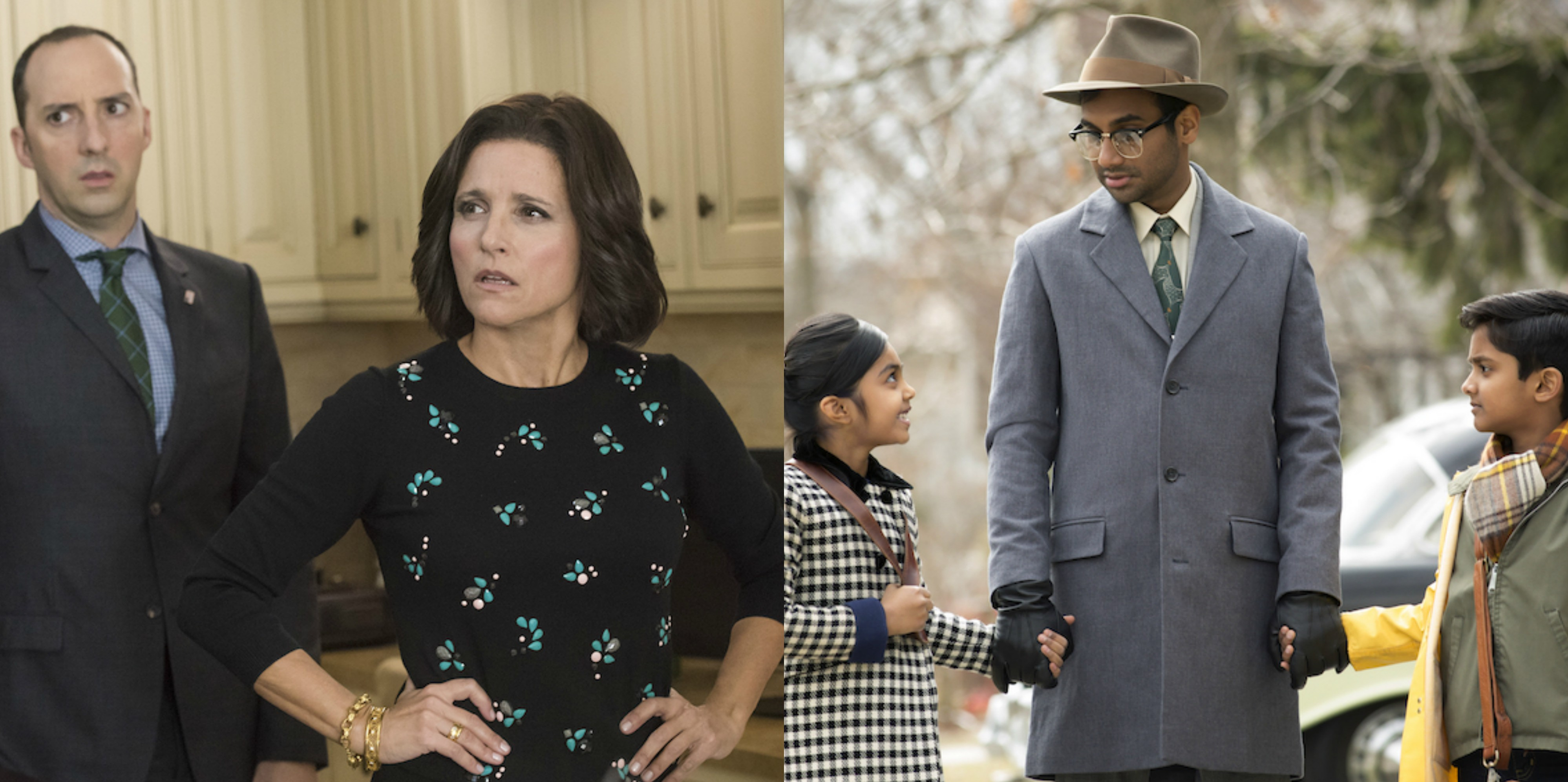 Veep v Master of None - directing