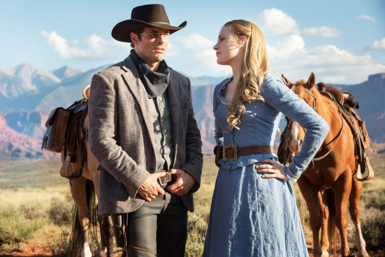 Westworld James Marsden Evan Rachel Wood