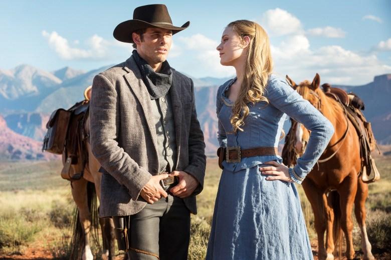 Westworld James Marsden Evan Rachel Wood