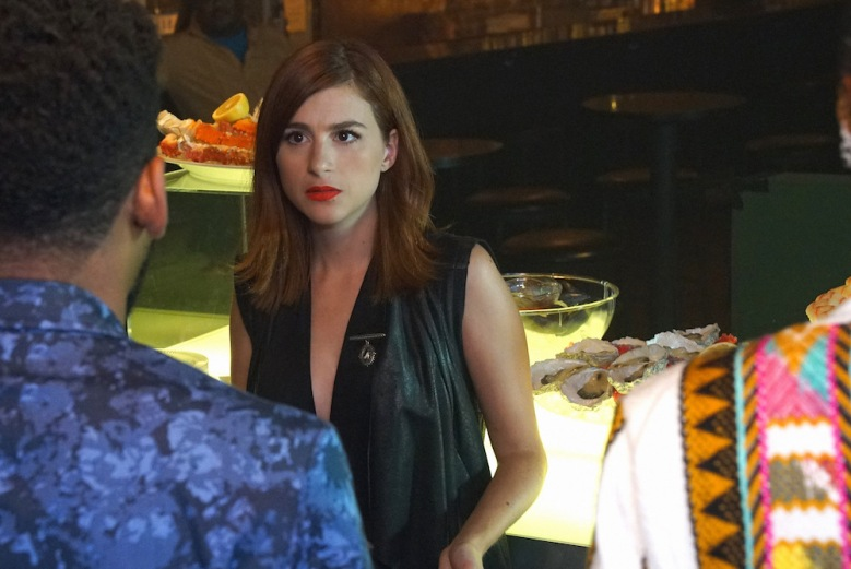 "YOU'RE THE WORST -- ""Try Real Hard"" -- Episode 301 (Airs Wednesday, August 31, 10:00 pm e/p Pictured: Aya Cash as Gretchen. CR: Byron Cohen/FX"