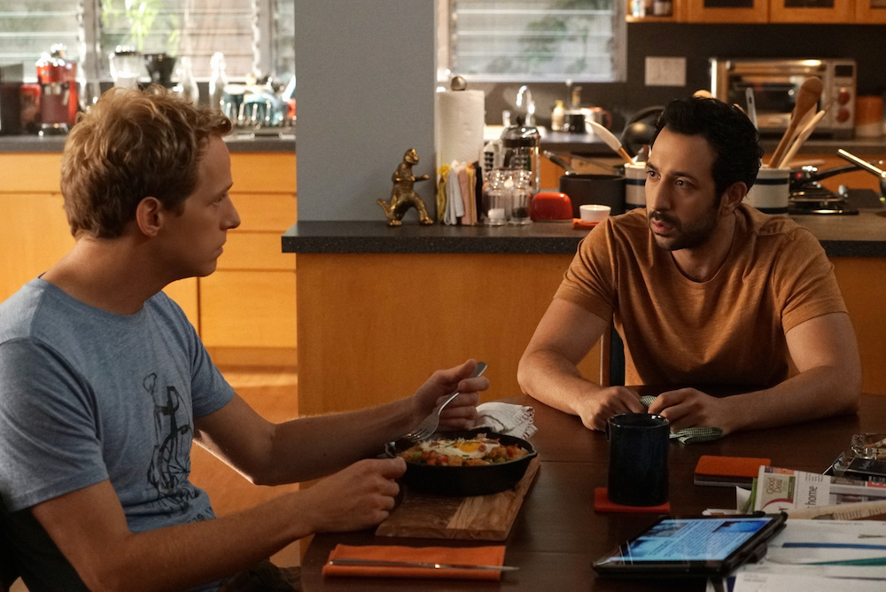 "YOU'RE THE WORST -- ""Try Real Hard"" -- Episode 301 (Airs Wednesday, August 31, 10:00 pm e/p Pictured: (l-r) Chris Geere as Jimmy, Desmin Borges as Edgar."