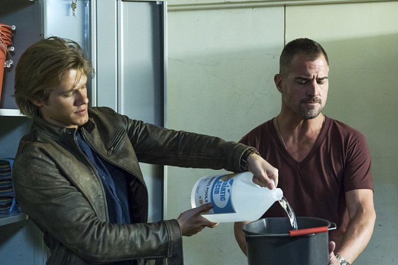 "Lucas Till and George Eads, ""MacGyver"""